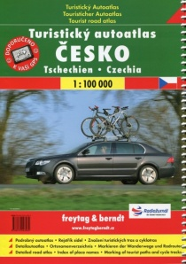 Czech republic 1:100 000 / hiking road atlas