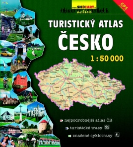 Czech republic 1:50 000 / hiking atlas
