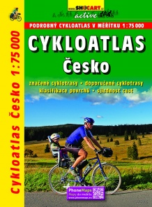 Czech Republic 1:75 000 / cycling atlas