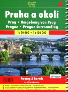 Prague 1:20 000 / city atlas
