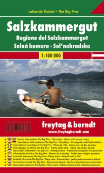 Austria - Salzkammergut 1:100 000 / laminated holiday map