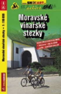 Bike Map SHOCart Moravian Wine Trails 1:110 000