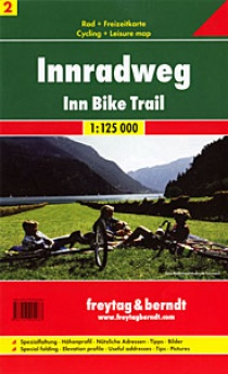 Austria 2 Inn Radweg 1:125 000 / road map