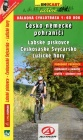 Czech-German border region, Elbe Sandstone Mountains / bike guide (Czech)