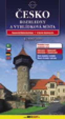 Czech Republic - viewtowers / road map (hard cover)