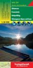 WK D 9 Chiemsee-Traunstein-Ruhpolding / hiking map