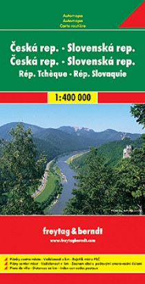 Czech Republic and Slovakia / road map