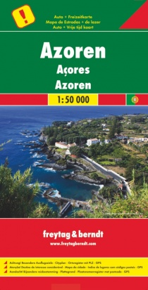 Azores / road map