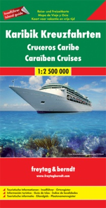 Caribbean cruises / road map