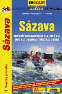 Sázava 1:50 000 / water guide and map
