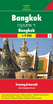 Bangkok 1:9 000 / city map