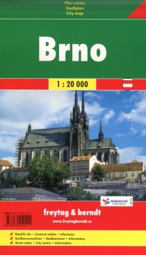 Brno 1:20 000 / city map