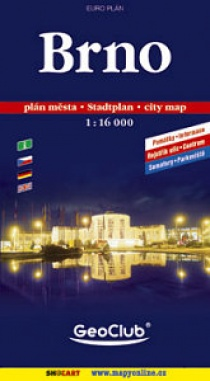 Brno 1:16 000 / city map (soft cover)